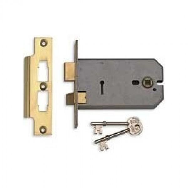 Union Horizontal Door Lock 3 Lever