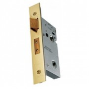 Easi T Brass Bathroom Lock