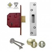 Union BS3621 5 Lever Mortice Deadlock 3""