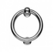 Ring Door Knocker Chrome