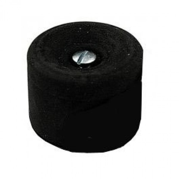 Black Rubber Door Stop
