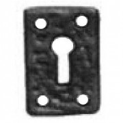 Antique Iron 1502 Rectangular Escutcheon