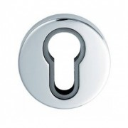 Serozzetta Euro Profile Escutcheon Chrome