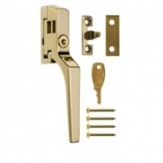 ERA Brass Locking Window Handle