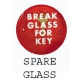Spare Glass for Emergency Key Box