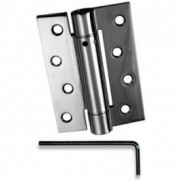 Single Action Spring Hinges Chrome
