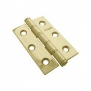 Brass Butt Hinge Ball Bearing 75x50mm