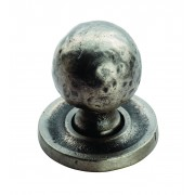 Hammered Pattern Ball Cupboard Knob