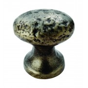 Hammered Oval Cupboard Knob