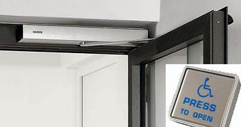 Assisted Door Opening and Low Friction Door Operators & DDA Door Ironmongery